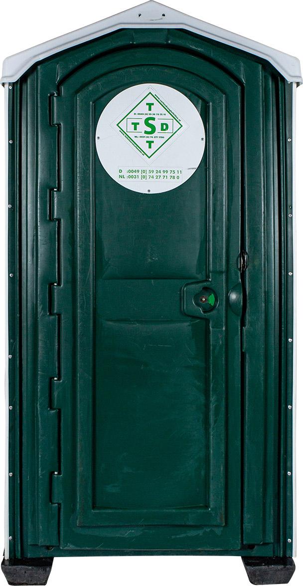 Toiletcabine aanhanger