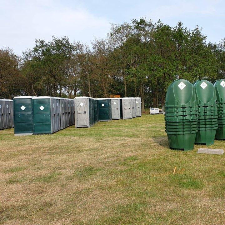 Mobiele toiletunits op festivals