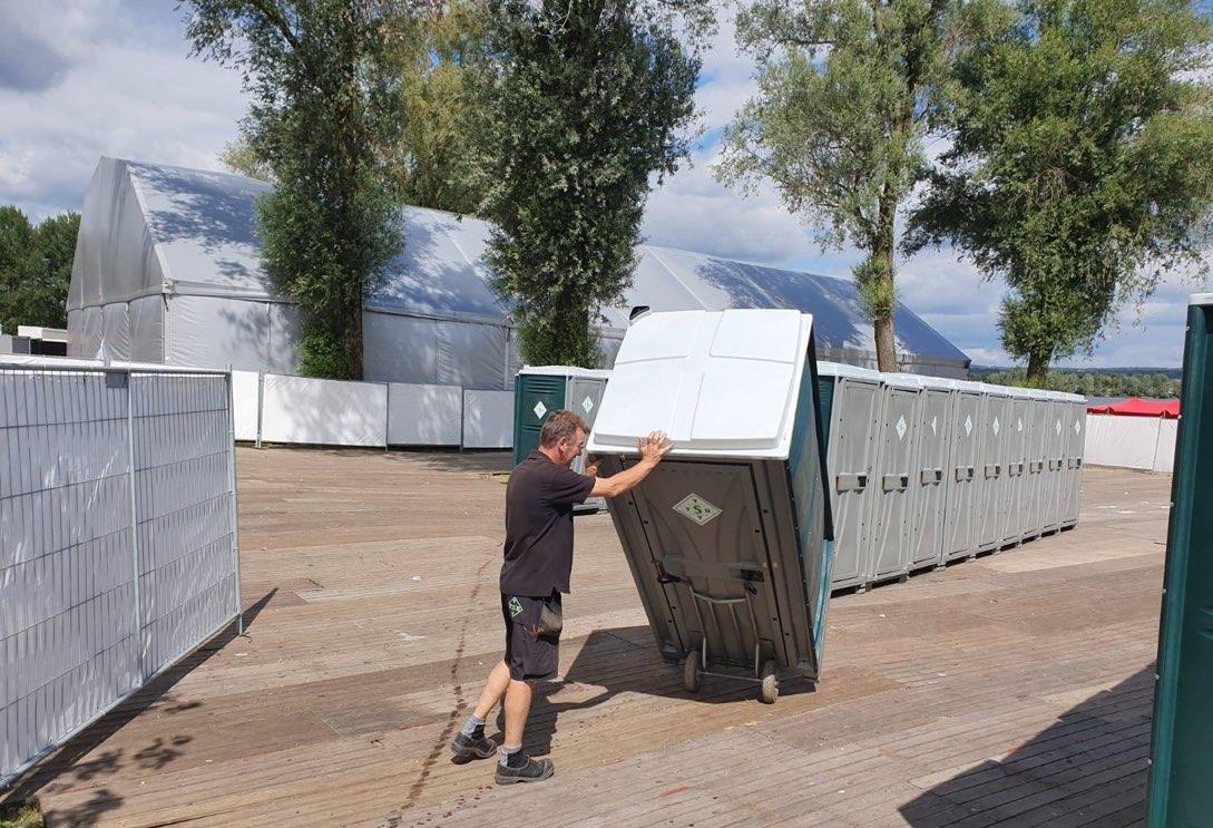Mobiele toiletunits voor alle soorten evenementen en festivals